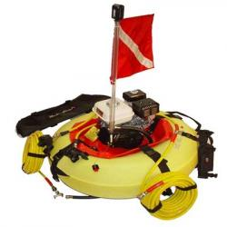 Scuba hookah dive system