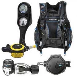 Scuba diving gear packages
