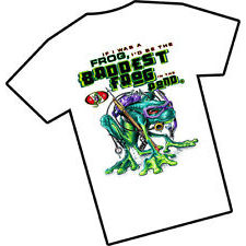 Amphibious Outfitters Bad Frog Ladies T Shirt White