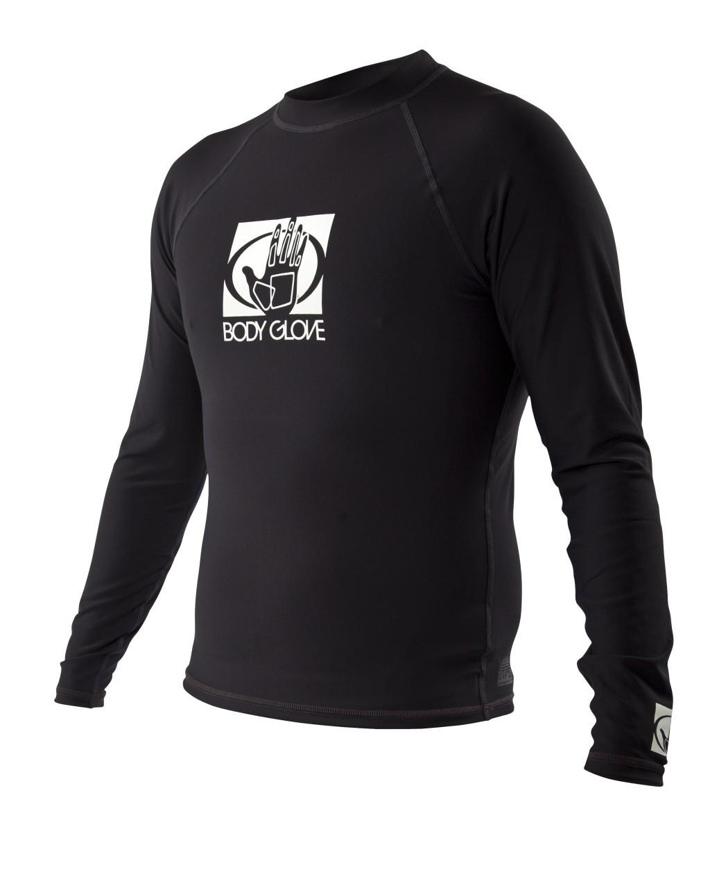 BodyGlove Basic LS Rashguard 2XL Black