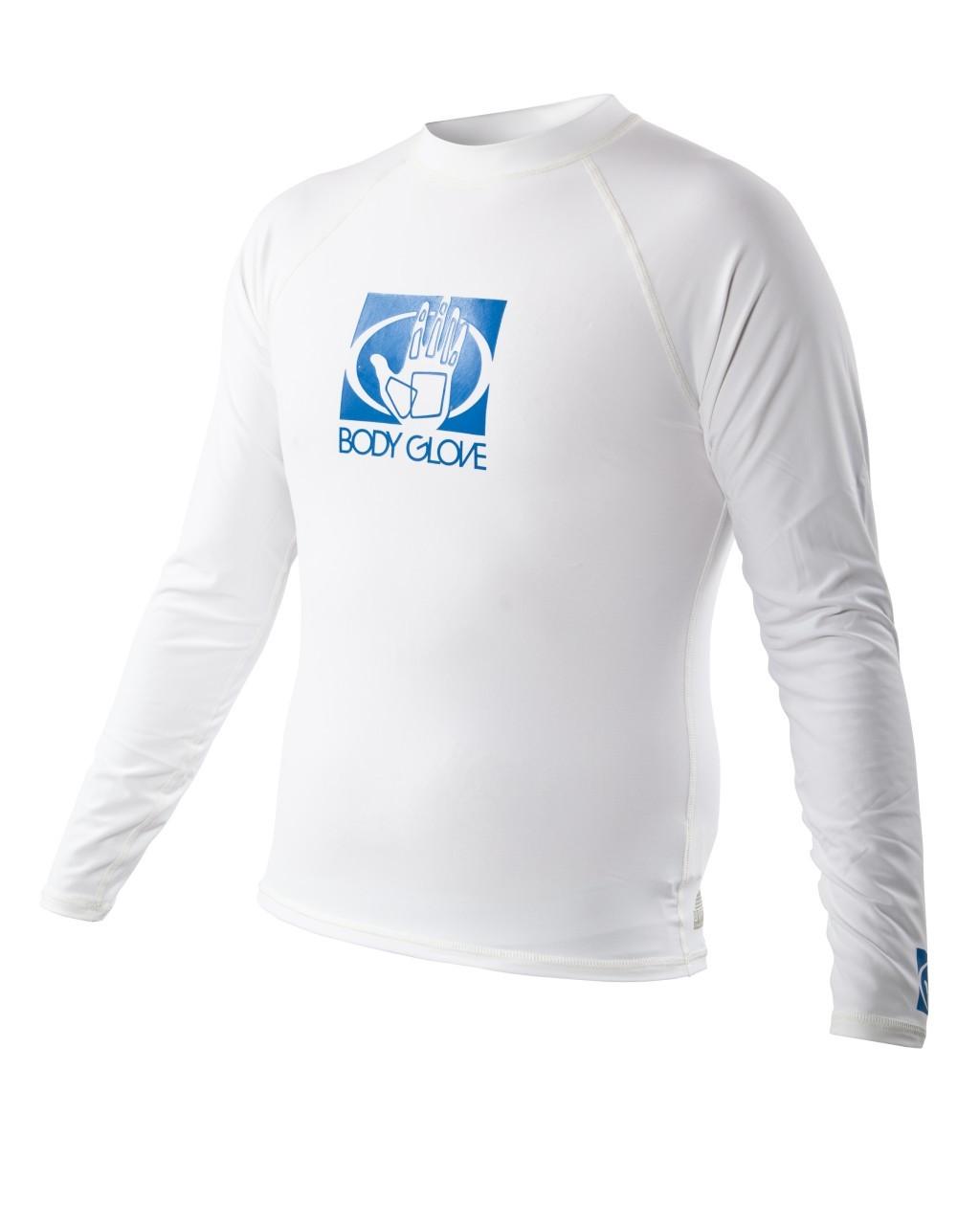 BodyGlove Basic LS Rashguard 2XL White