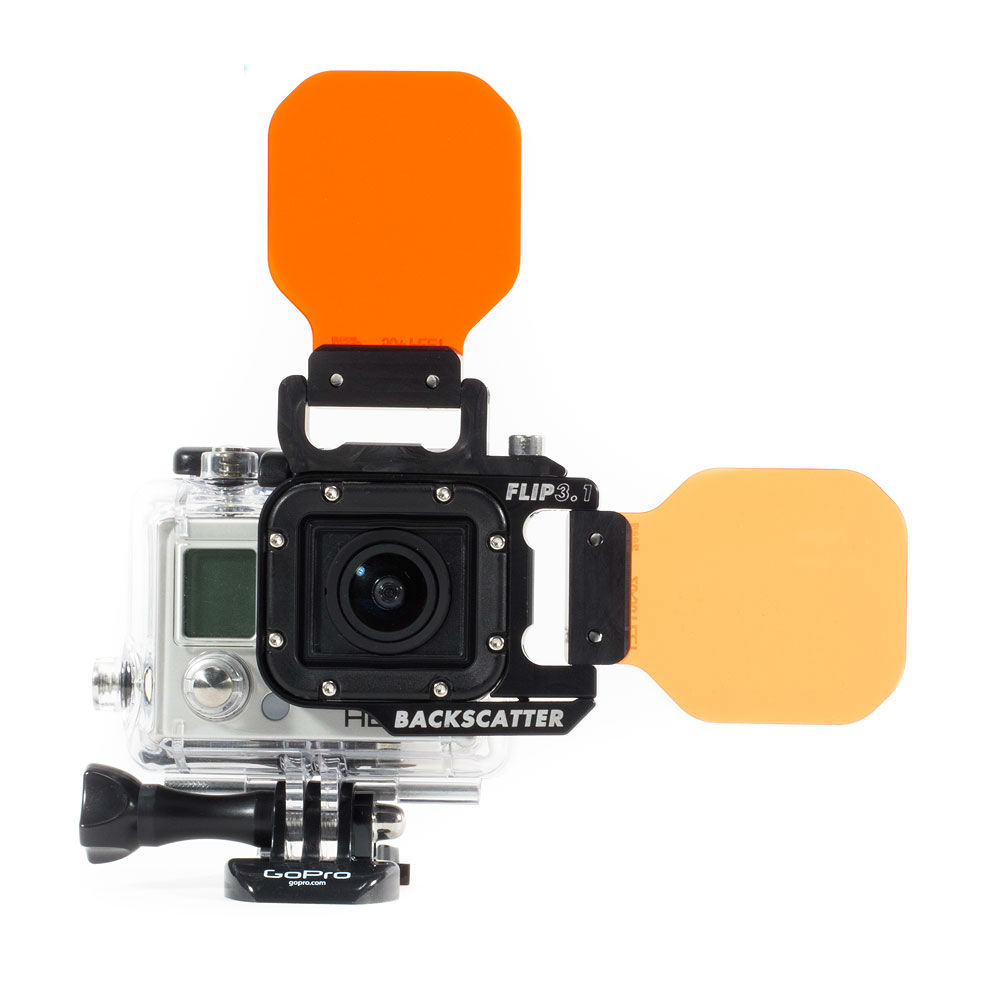 FLIP3.1 SIDE & TOP FLIP for GoPro Hero3 Combo Pack