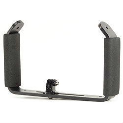 GoPro 3 Double Handle & Tray with Tripod Adapter