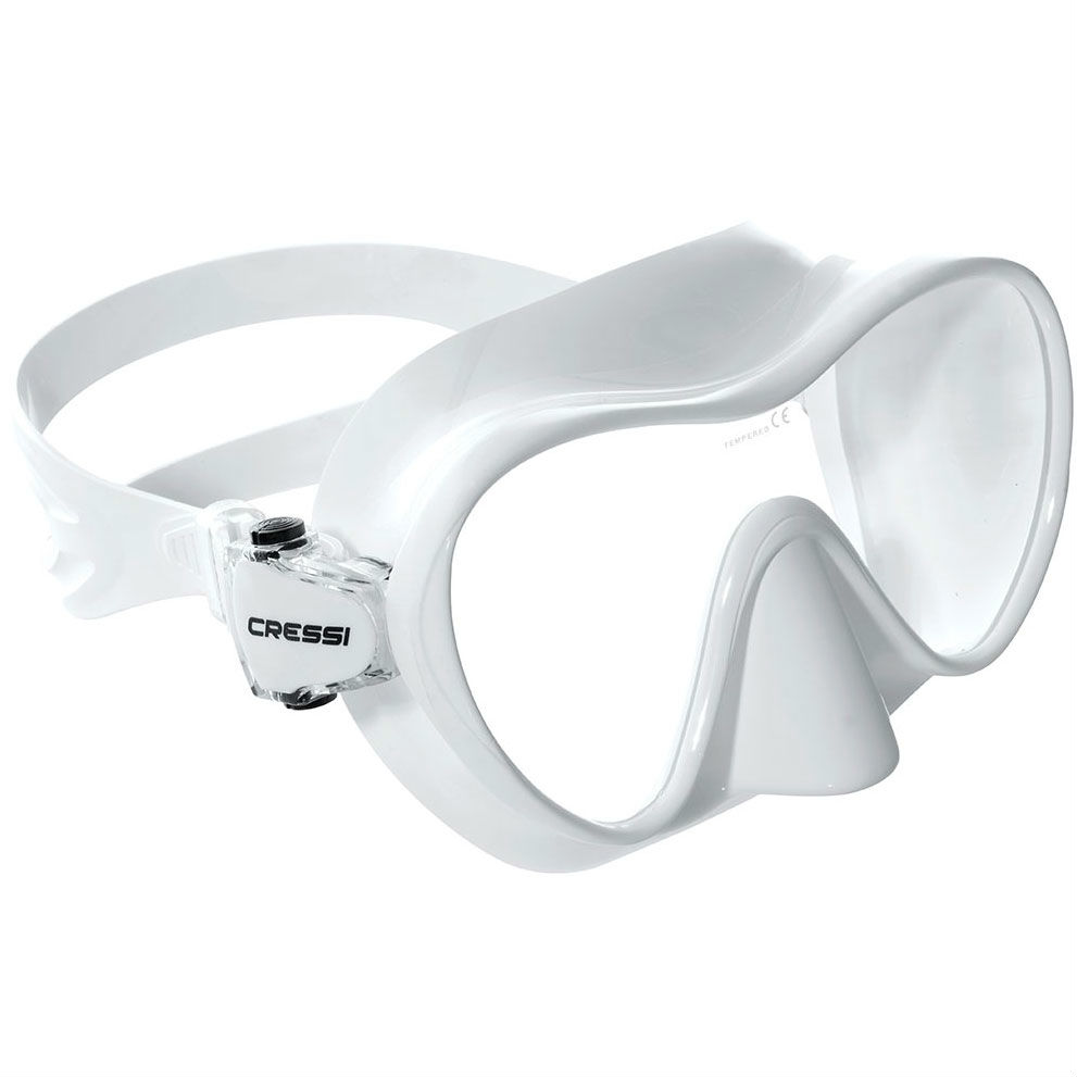 Cressi Frameless Mask White