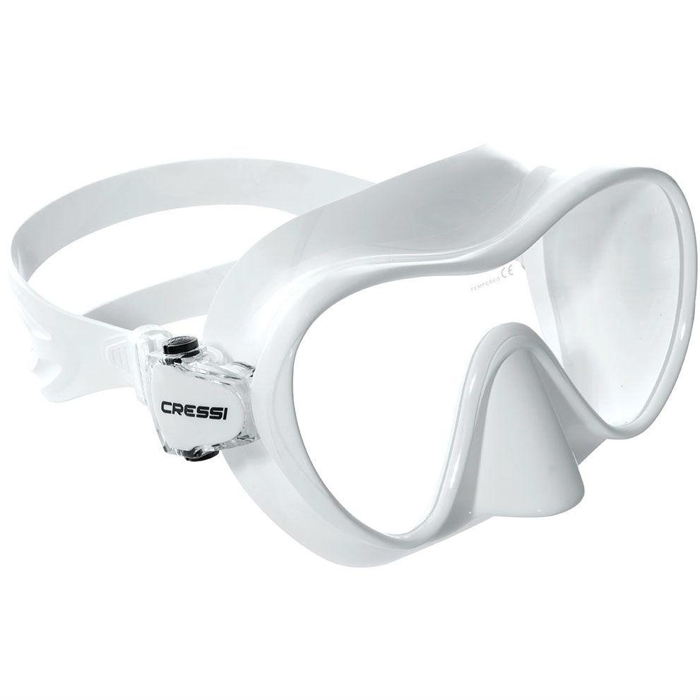 Cressi Frameless Mask White