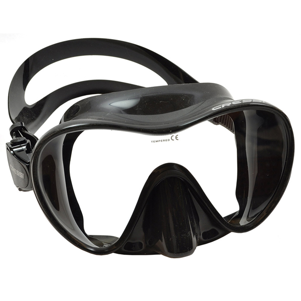 Cressi F2 Frameless Mask Asian Fit