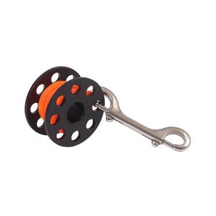 Dive Rite Reel Finger Spool 50Ft 24 Orange Line