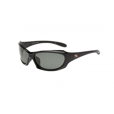 Dive Shades Pacific II Gloss Black