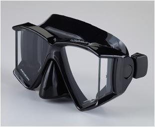 Genesis Quadra Mask Black Silicone