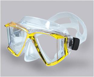 Genesis Quadra Mask Yellow