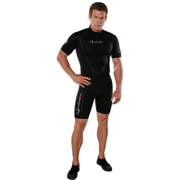 Henderson Thermoprene 3mm Men Back Zip Shorty Black L
