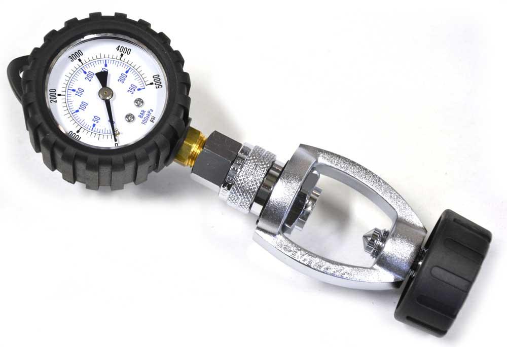 Hog Tank Pressure Checker Yoke Connector