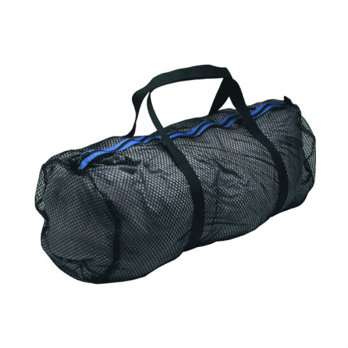 Standard Mesh Duffel Large 35x13in Black Blue