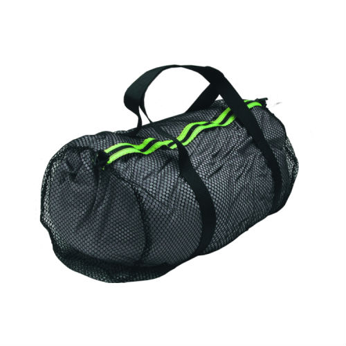 Standard Mesh Duffel Medium 25x13in Black Yello