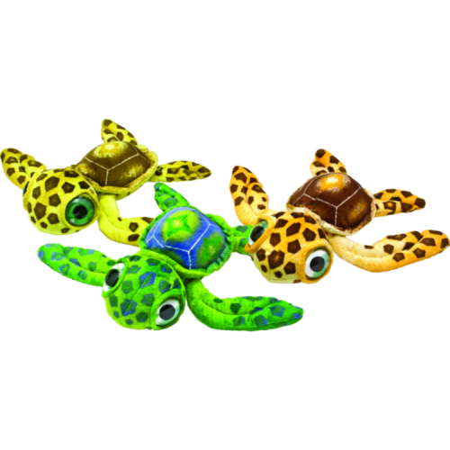 11.5in plush Big Eye Turtles