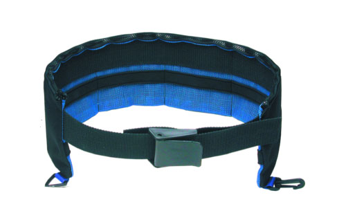 Pocket Cordura Weight Belt Black