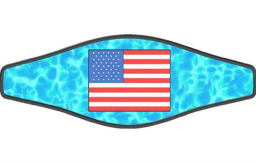 Adj Strap American Flag