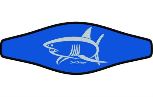 Adj Strap Dunleavy White Shark