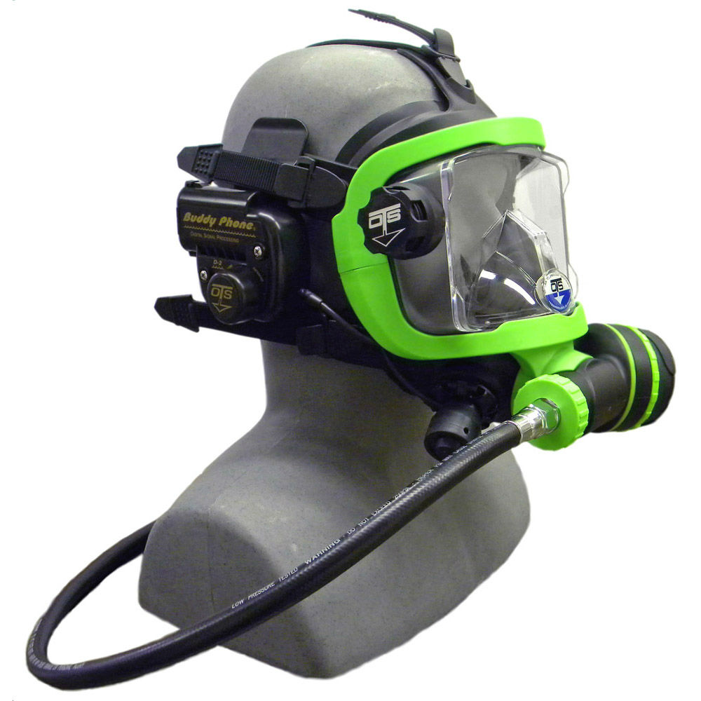 OTS Guardian Mask BUD-D2 Buddy Phone Package Black Green