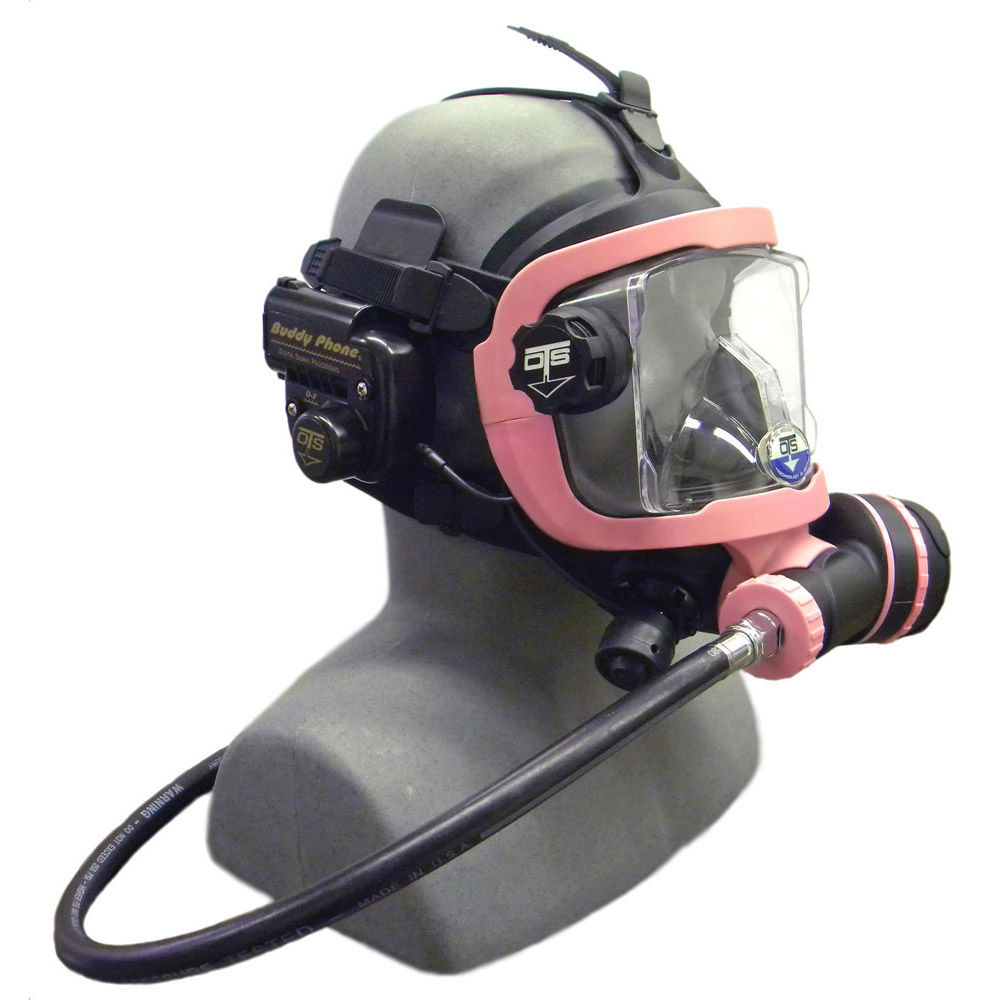 OTS Guardian Mask BUD-D2 Buddy Phone Package Black Pink