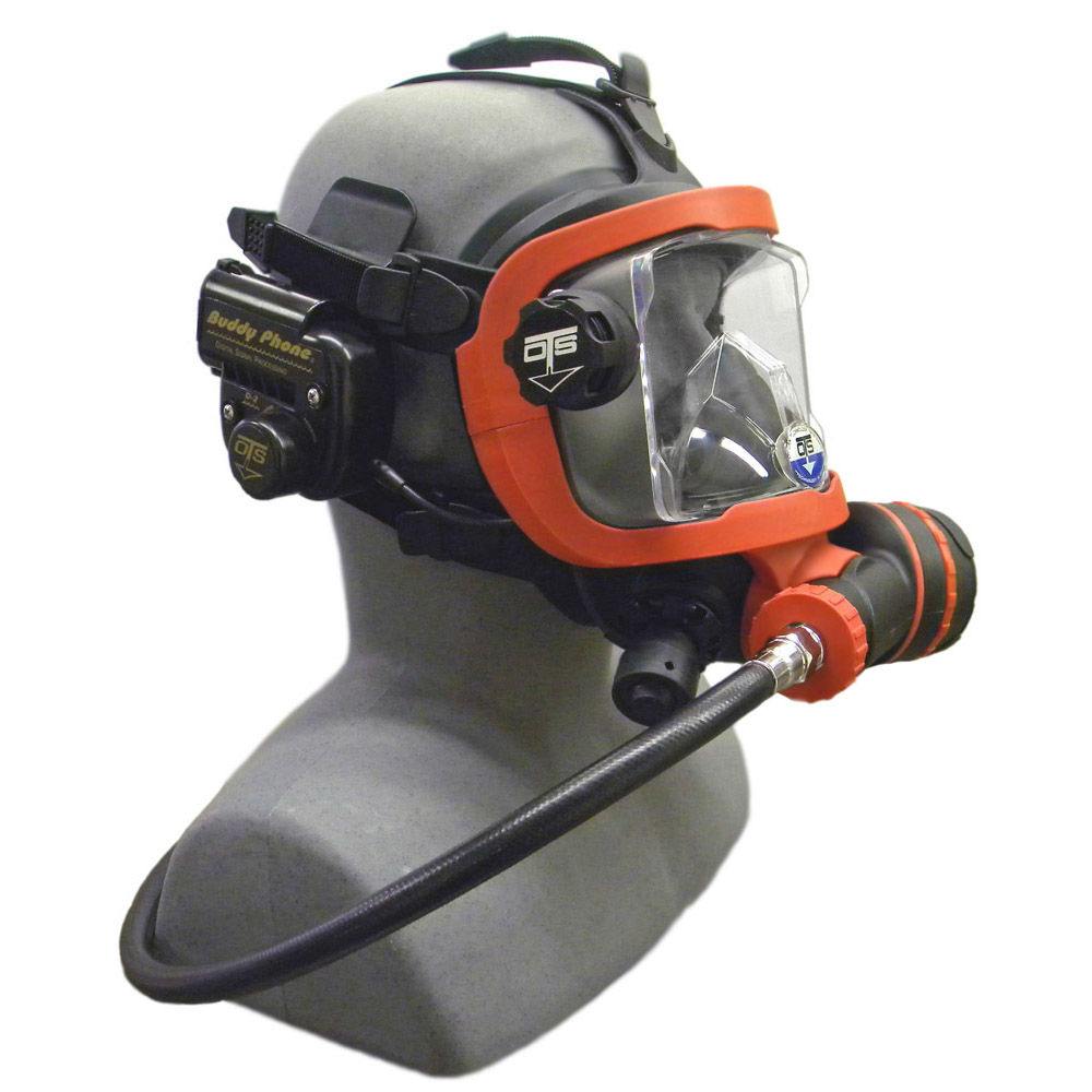 OTS Guardian Mask BUD-D2 Buddy Phone Package Black Red