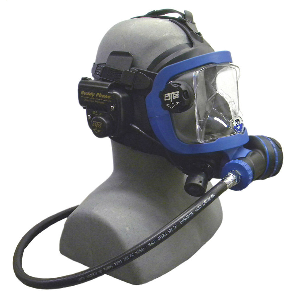 OTS Guardian Mask BUD-D2 Buddy Phone Package Black-Blue