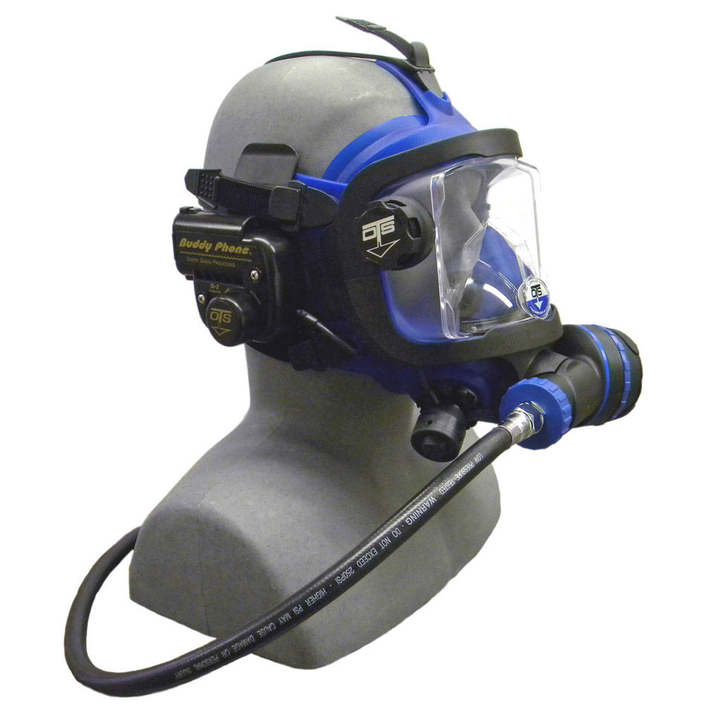 OTS Guardian Mask BUD-D2 Buddy Phone Package Blue Black