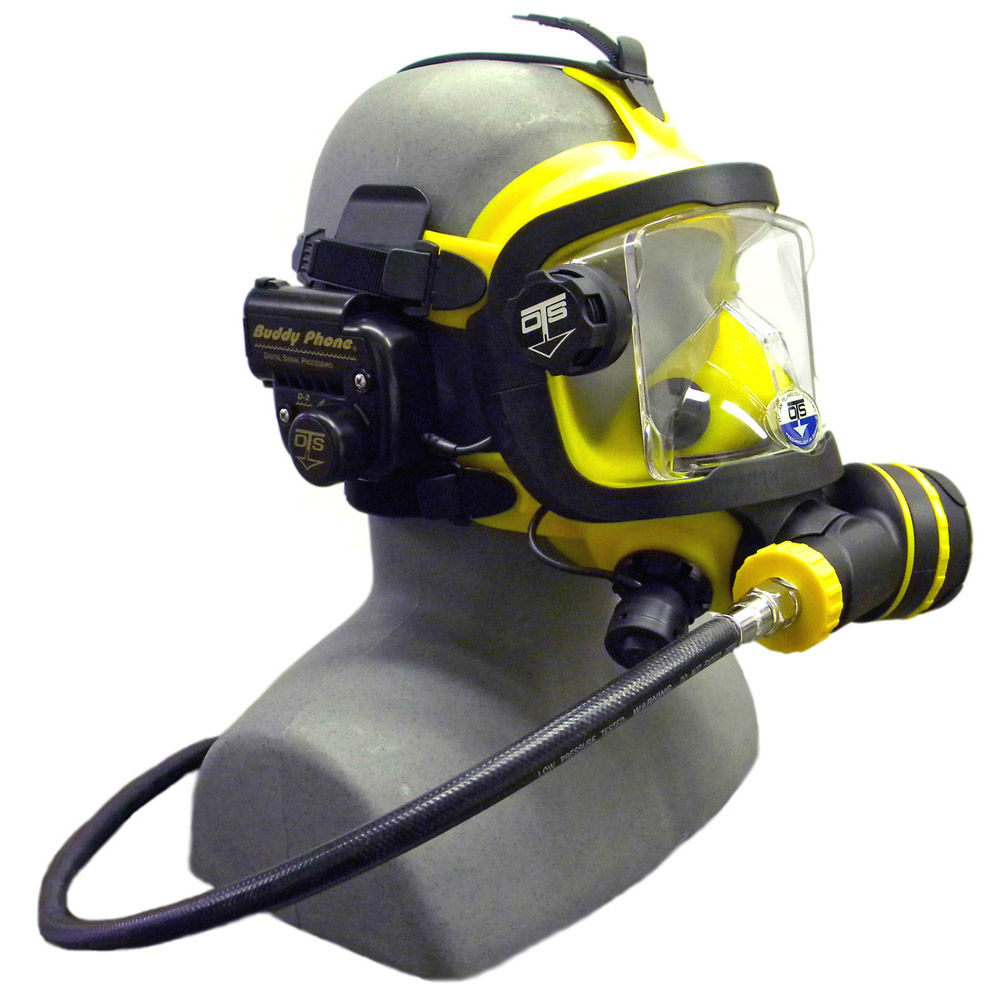 OTS Guardian Mask BUD-D2 Buddy Phone Package Yellow Black