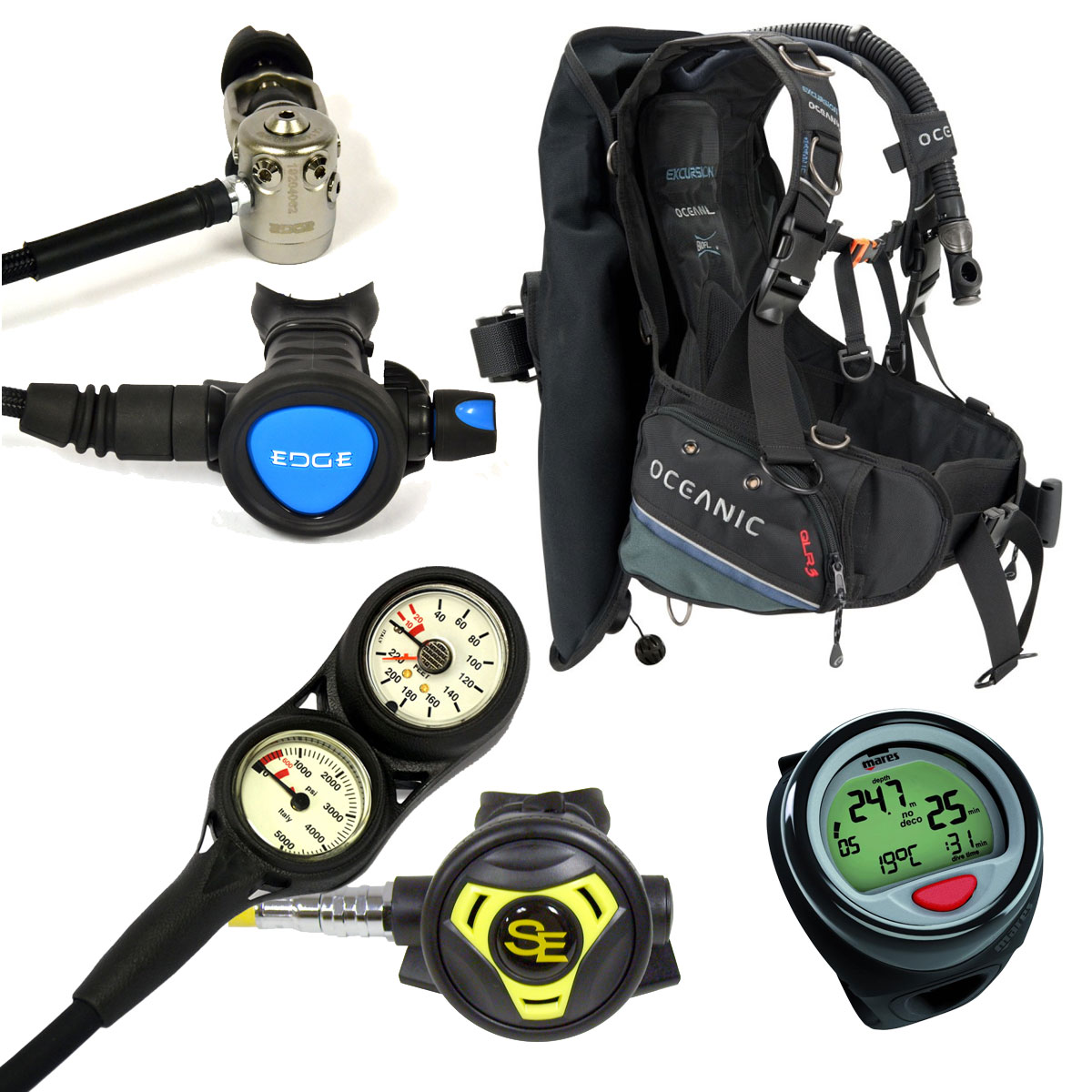 Scuba Gear Excursion  Package