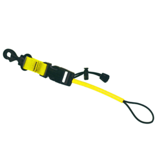 Web Console Holder QR with Clip Yellow