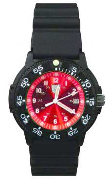 Ram Dive Watch 41100 Series Red Face