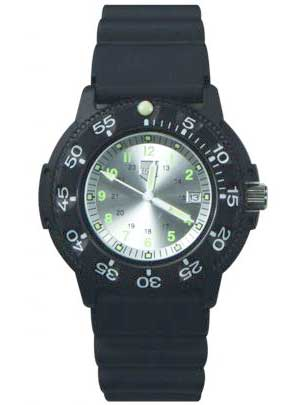 Ram Dive Watch 41100 Series White Face