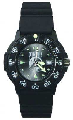 Ram Dive Watch 41100 Series POW MIA Black Face