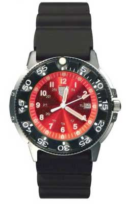 Ram Dive Watch 41200 Series Red Face