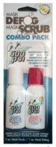 500PSI 1oz Mask Defog and Mask Scrub Combo Pack