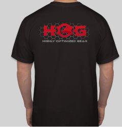 Hog Logo T-Shirt Black