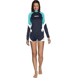 Mares Rash Guard She Dive Loose Fit 412541 Aqua