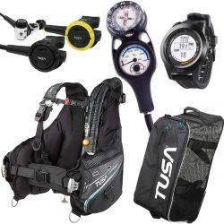Tusa Soverin Balanced Pro Scuba Gear Package