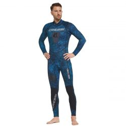 Tokugawa 3mm Man-Blue Camo Wetsuit