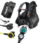 Tusa Soverin Balanced Scuba Gear Package with Computer