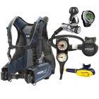 Cressi Lightwing Travel Scuba Gear Package