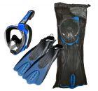 Cressi Duke Full Face Snorkeling Set