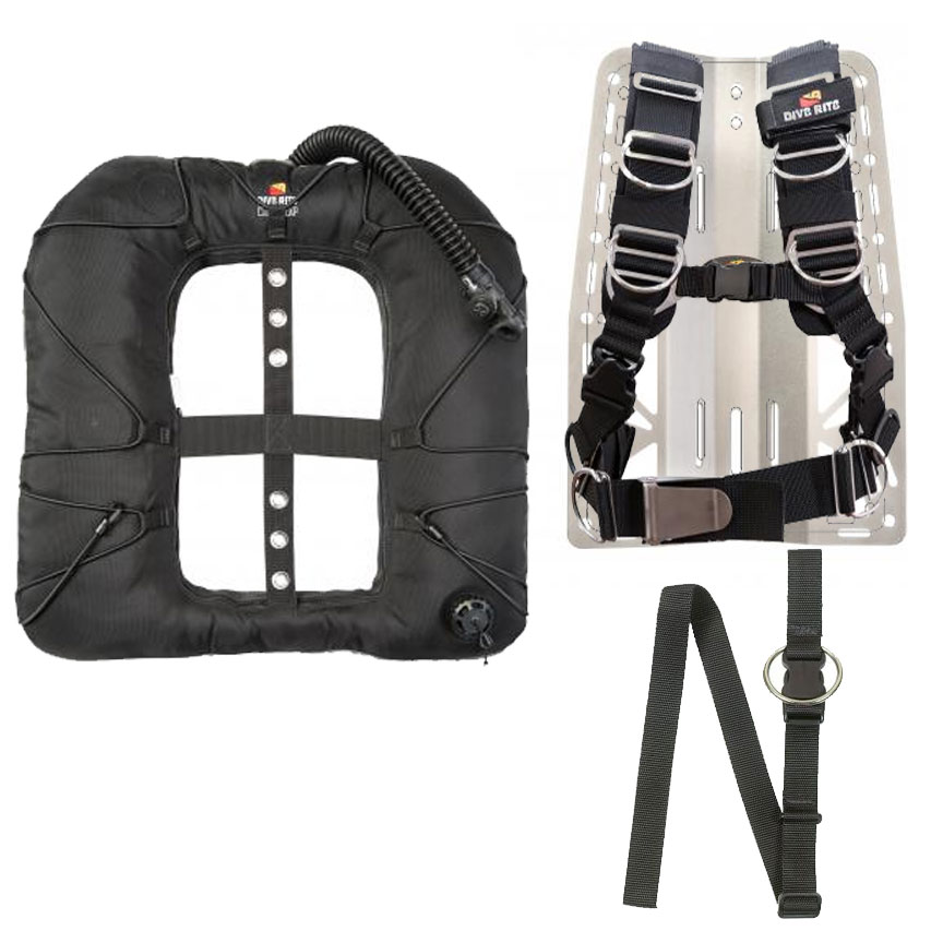 Dive Rite Transplate Classic Exp Wing Package