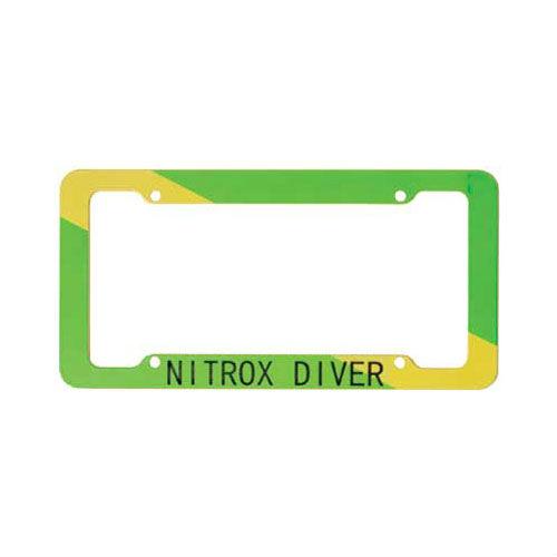 Plastic License Plate Frame Nitrox