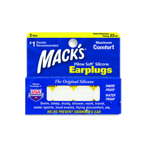 Macks Adult Pillow Soft Ear Plugs 2 pair