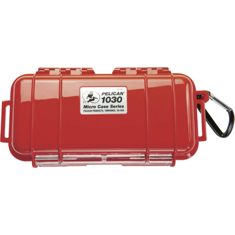 Pelican 1030 Micro Case Red