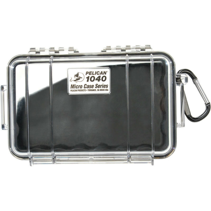 Pelican 1040 Micro Case Black-Clear