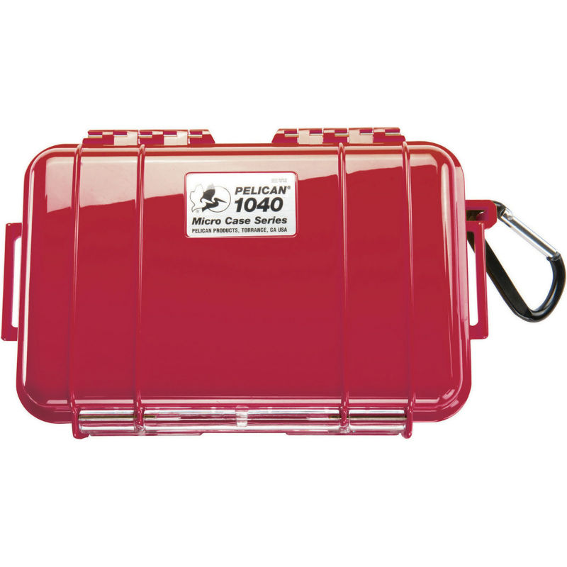 Pelican 1040 Micro Case Red