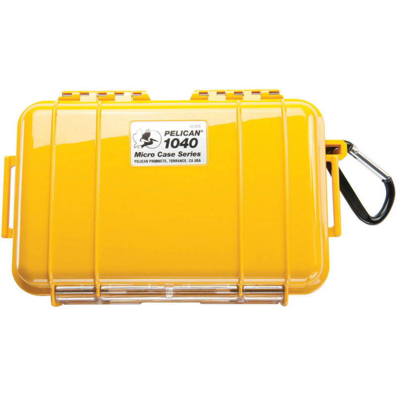 Pelican 1040 Micro Case Yellow