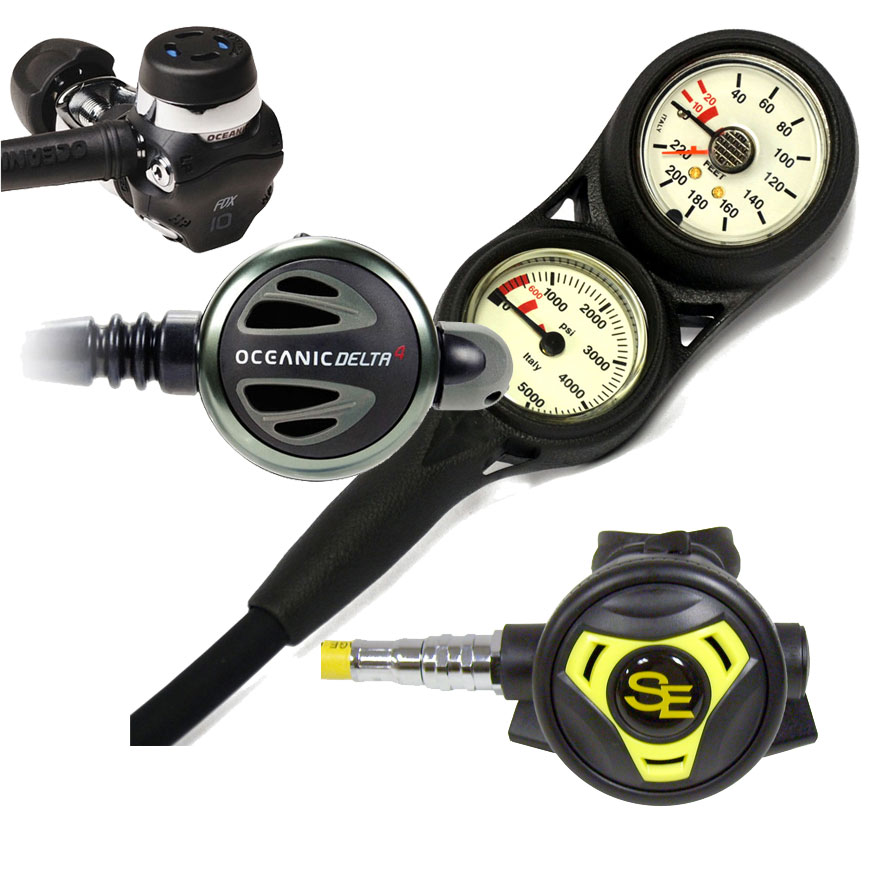 Oceanic Delta 4 Regulator Package
